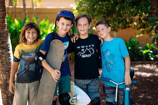 Skateboarding at Journey School